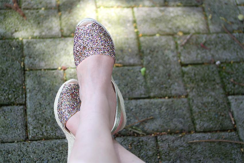 ¡Glitter version! Ligeras, cómodas y hermosas